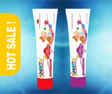 Baby / Kids Gel Toothpaste 125 g with Strawberry / Bubble Gum Flavour