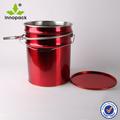 20l la lata de pintura contenedores con palanca de bloqueo del anillo para el uso de químicos