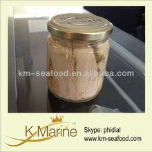 Glass Jar Tuna of Skipjack Steak