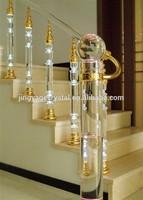 crystal indoor stair railings
