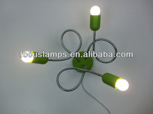 Simple style led ceiling lamp with environmental protection idea suitable for indoor