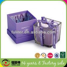 Alibaba China Luxury lavender custom made candle box