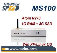 12V Mini Computer with Intel Atom N270 CPU 1GB RAM 8GB SSD