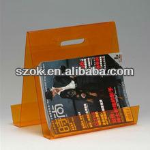plastic colored decorative portable book display shelves