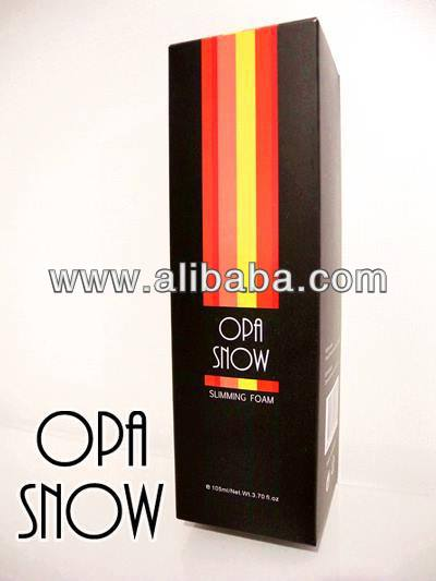 Opa Snow - A New Slimming Method with Mousse Spray with 100% natural ingredients and with no chemical.