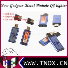 TNOX 2013 Brand New Metal gadgets Lighter pinhole dvr with lighter shape+USB disk+Video Camera