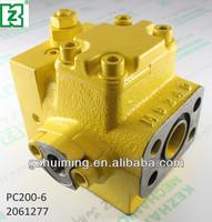 PC200-6 Excavator hydraulic flow control valve