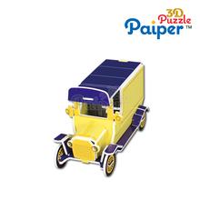 Paper 3d puzzle children toys model car