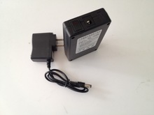 Super Rechargeable li-ion Battery DC12V 3800mAh with EU/US Adapter for CCTV Camera