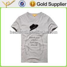 Cheap Promotional Fashion mens polyester spandex t shirts