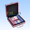 100pcs deluxe poker chip game set