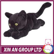 Soft Black Cat Plush Stuffed Toys