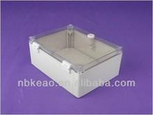 IP65 plastic molded electronic enclosure, PWE536PW