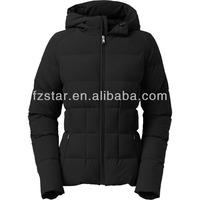 hoodie slim down jacket for women/winter coats for women