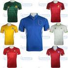 World cup team shirt, football uniform. Brazil soccer jerseys, world cup 2014 shirt in stock