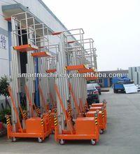 9 meter Single mast Mobile portable single person aluminum lift