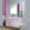 bathroom plastic vanity cabinet with side