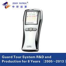 30 Incident Internal Color LCD EM TI IC RFID Tag Sanner Guard Patrol Monitoring System