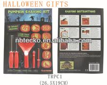 Fashion design halloween decoration gift pumpkin carving kit