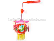 chinese lantern holder with LED flashing lights