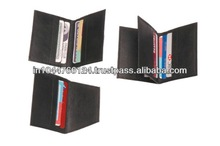ADACCC - 0001 Custom design playing card case / 100 % real leather bank atm card holder wallets / business card holder