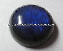 Natural Labradorite 20mm Blue Fire Round Cabochon Gems Stone