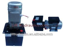 Lifting platform hydraulic power unit