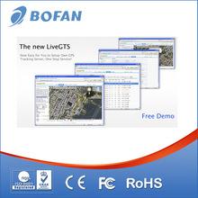 web based gps server tracking software for online LiveGTS fleet management fuel monitor