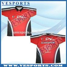 Motorcycle shirt made in china rock racing cycling jersey