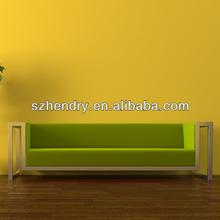 popular green fabric leisure hotel sofa
