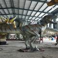 resina a grandezza naturale dragon statue da parco dei dinosauri velociraptor