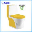 Ceramic water closet yellow toilet bowl