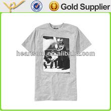 Good quality sale soft cotton famous brand name t-shirt regular fit