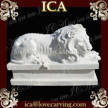Marble carving Sculpture lion