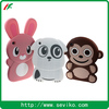 2014 Customized cute animal design silicone case for pc tablet