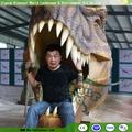 tema parkı dinozor kafası açık hava oyunları