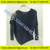 Wool/Acrylic ladies fashion pullover sweater