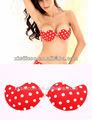 Fotos de mulheres nuas vermelha sutiã meia xícara, artificial de silicone bra mama