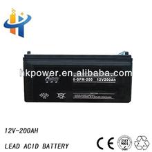 200ah high capacity battery , lead acid storage battery