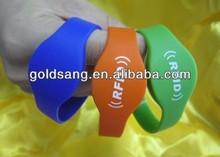 2014 RFID popular wristband bracelet silicone gift