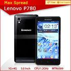 Original mtk 6589 1.2Ghz android 4.2 8mp dual camera smartphone lenovo p780