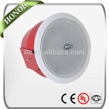 ITC T-565 1.5W 3W 6W EN54-24 2.0 Fireproof Ceiling Speaker for Fire Alarm System