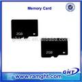 la fábrica de shenzhen 512mb 1gb 2gb mini sd tarjeta de memoria