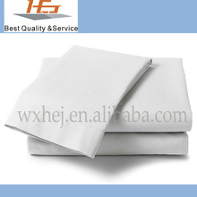 2014 Super Cheapest Factory Direct Sale White Plain Bed Sheet For Hotel And Hospital