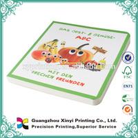 Cute Educational Hardcover cardboard Children Book