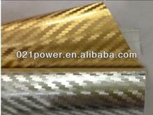 4d carbon fiber vinyl car sticker sound activated car sticker
