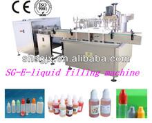 SGDYJ -automatic e juice /e liquid /cigarete oil bottling capping machine. filling machine