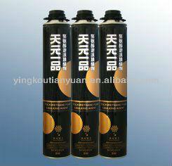 expanding spray PU foam sealant Aerosol Pu Foam Professional sealant