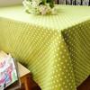 Mircrofiber 100% polyester christmas design fabric tablecloth