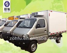 refrigerator freezer cargo van